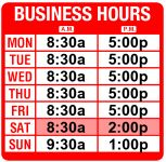 Vidcam Shop Hours